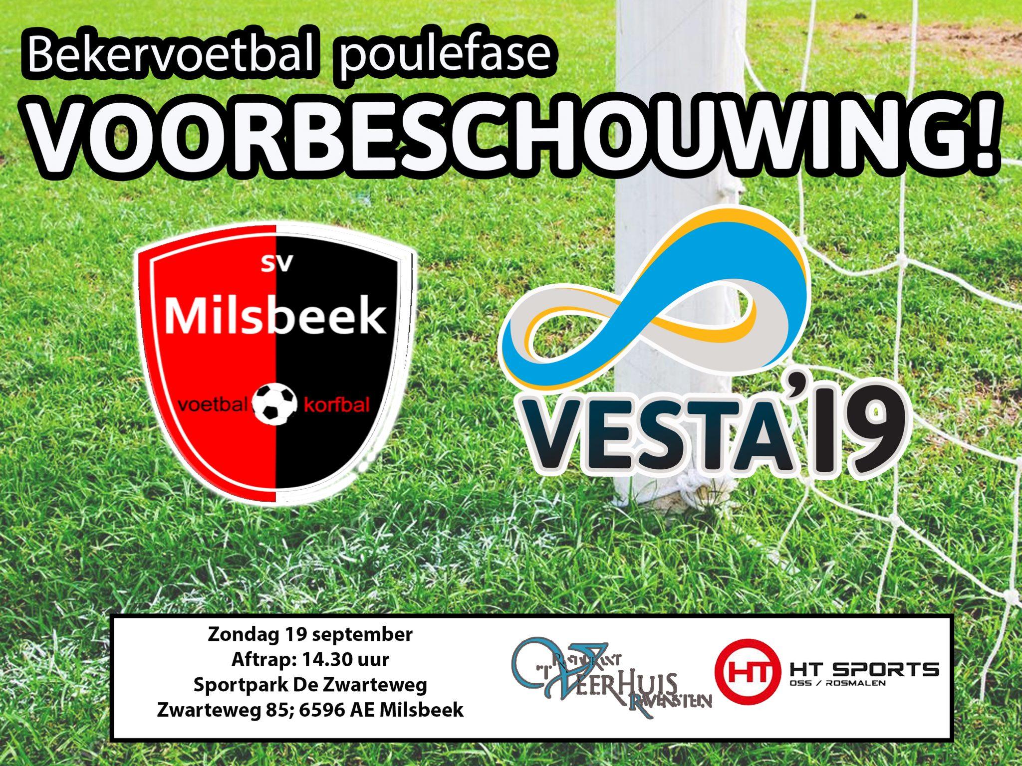 Voorbeschouwing Milsbeek 1 - VESTA'19  1