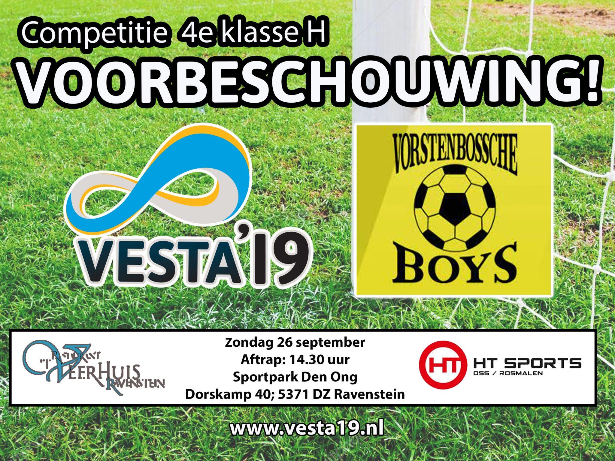 Voorbeschouwing VESTA'19 1 - Vorstenbossche Boys 1