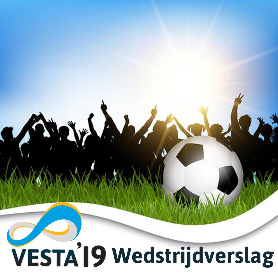 VESTA'19 wint zijn 1e wedstrijd van het nieuwe seizoen